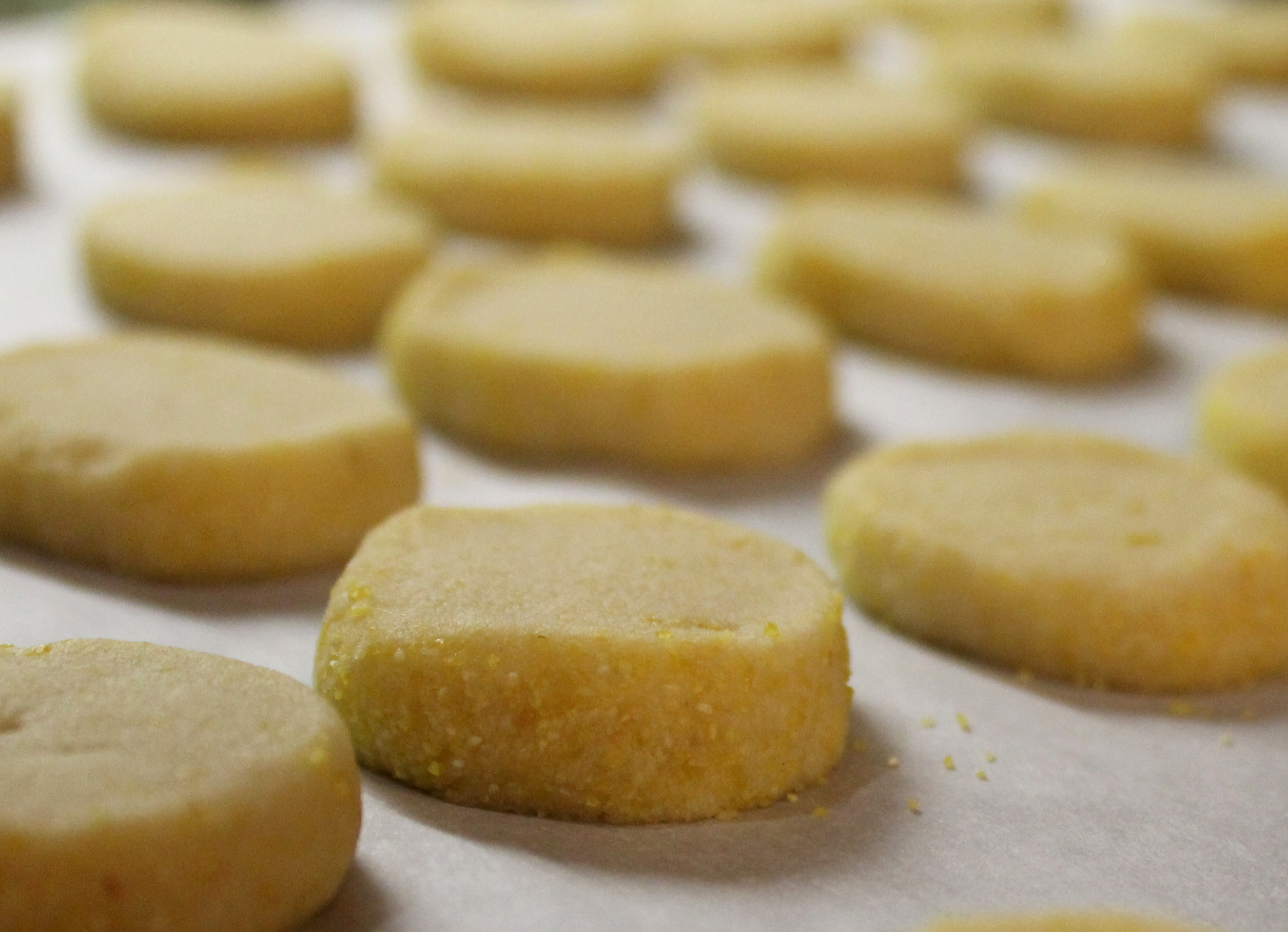 ... Chef Services – Christmas Cookie #4 – Citrus Cornmeal Shortbread