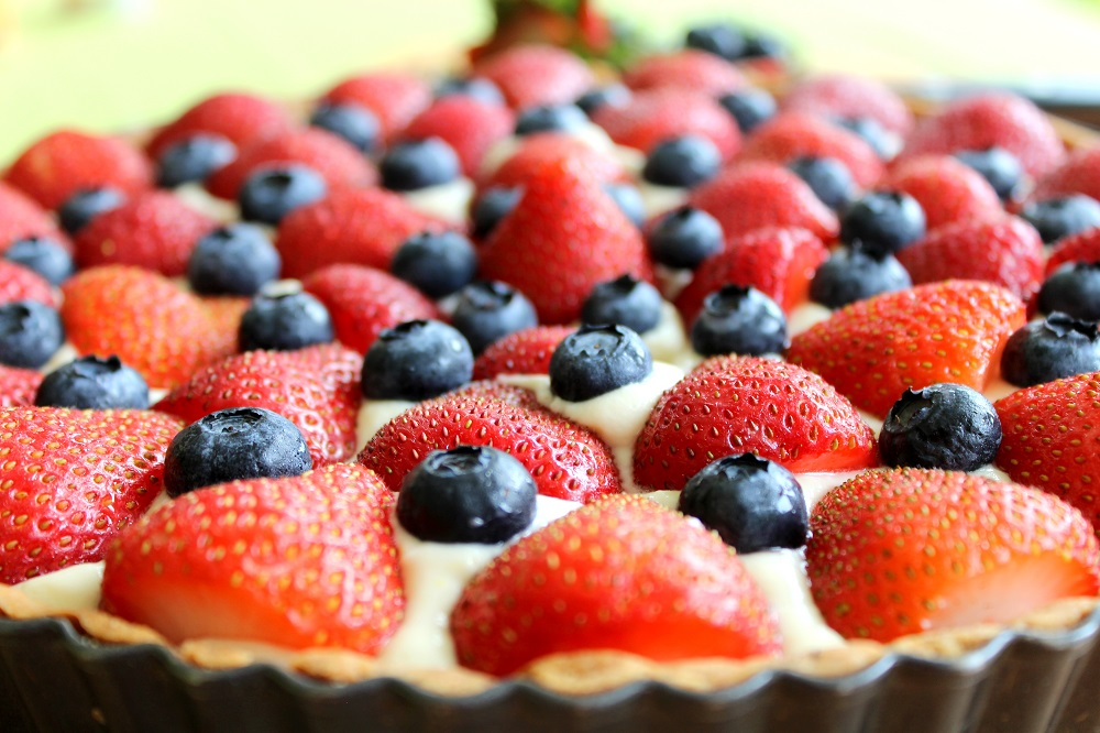 Strawberry And Blueberry Tarts Recipes — Dishmaps